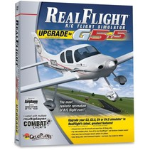 GREAT PLANES NOW $50.00 REALFLIGHT G5.5 UPGRADE FROM 3.0- 4.5 VERSIONS