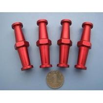 HY GASOLINE ENGINE  STANDOFF SET   M4 × D19 × H70mm X 4 PCE SUITS CRRC 26-50CC DA50,DL50/55 ETC<br />( OLD CODE HY382301 )