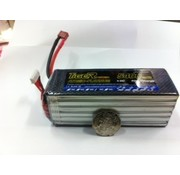 LION POWER - TIGER POWER LIPOS TIGER POWER LIPO 45C 22.2V 5400mAh READ SAFETY WARNING BEFORE USE 43.0 x 139.0x x 59.0mm 725gr  SOLD WITH XT90 PLUG