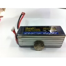 TIGER POWER LIPO 45C 22.2V 5400mAh READ SAFETY WARNING BEFORE USE 49.0x51.5x x145mm 782gr  SOLD WITH XT60 PLUG
