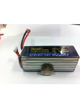 LION POWER - TIGER POWER LIPOS TIGER POWER LIPO 45C 22.2V 5400mAh READ SAFETY WARNING BEFORE USE 49.0x51.5x x145mm 782gr  SOLD WITH XT60 PLUG