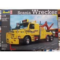 REVELL SCANIA WRECKER  07511