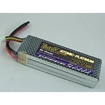 TIGER POWER LIPO 45C 11.1v 2200mah 27x34x110mm  195gr SOLD WITH DEANS CONNECTORS