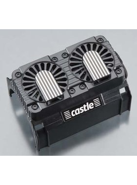 CASTLE CREATIONS CASTLE E-BAJA 2028 FAN SHROUD  with twin cooling fans