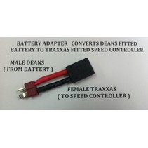 ACE ADAPTER DEANS BATTERY TO TRAXXAS DEVICE
