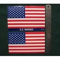 SIG DECAL US FLAG LG X 2