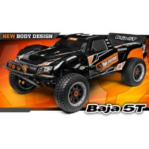 HPI BAJA 5T DESERT TRUCK WITH 26cc MOTOR   & TUNED PIPEBLACK  INCLUDES  RX CHARGER  2.4 ghz