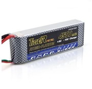 LION POWER - TIGER POWER LIPOS LION POWER LIPO 45C 11.1V 4500mAh READ SAFETY WARNING BEFORE USE 37.0x136x26mm 280g SOLD WITH XT60 PLUG