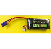 LION POWER - TIGER POWER LIPOS LION POWER LIPO 20C 11.1V 1300mAh READ SAFETY WARNING BEFORE USE 71.85 X 33.84.5X18.9mm 85gr<br />FITTED WITH EC3