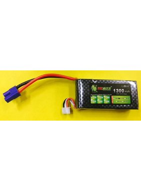 LION POWER - TIGER POWER LIPOS LION POWER LIPO 20C 11.1V 1300mAh READ SAFETY WARNING BEFORE USE 71.85 X 33.84.5X18.9mm 85gr<br />