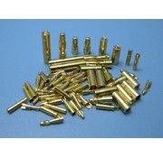 HY MODEL ACCESSORIES HY GOLD CONTACTS 6mm  MALE &amp; FEMALE ( 3 Pairs )<br />