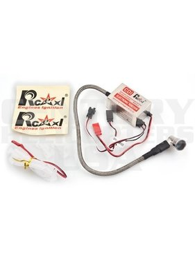 RCEXL Ignition module is 55g lighter than the standard Zenoah.<br />