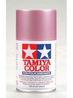 TAMIYA TAMIYA SPRAY PS-50 SPARKLING PINK ANODIZED ALUMINUM