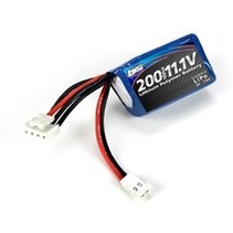 LOSI 11.1V 200MAH 3S LIPO BATTERY PACK BRUSHLESS ONLY FOR THE MICRO 4 X 4 PLATFORM
