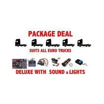 PACKAGE DEAL 8 FOR TAMIYA TRUCKS WITH MFC-03 LIGHT AND SOUND