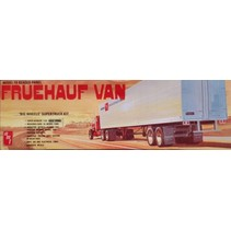 AMT FRUEHAUF VAN  MODEL FB BEADED PANEL 1/25 RETRO DELUXE KIT