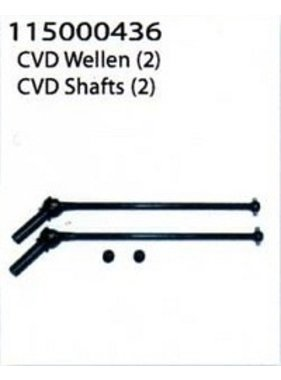 ANSMANN CVD Shafts (2) for Vapor - Ansmann