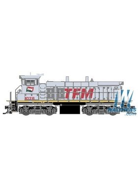 ATLAS ATLAS EMD MP15DC Square Air Filter Box - Standard DC -- Transportacion Ferroviaria Mexicano TFM #1034 (gray, red)