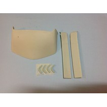 AUSLOWE AERO KIT FOR ROOF AND FLARING SUIT HR5 SLEEPER 1/25