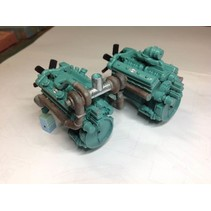 AUSLOWE ENGINE KIT DETROIT V12 2 OPTIONAL VALVE COVERS WITH OPTIONS FOR TURBO AND NON-TURBO  1/25-1/24