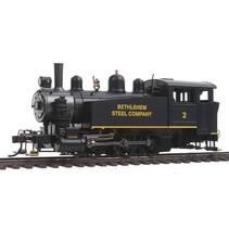 BACHMANN Porter 0-6-0T Side Tank w/DCC -- Midvale Steel #5 (black, graphite)
