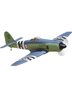 BLACK HORSE BLACK HORSE HAWKER SEA FURY 35cc  WITH OLEOS