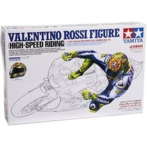 TAMIYA Valentino Rossi Rider Figure - High Speed Riding Type