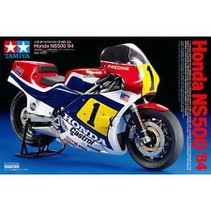 Tamiya 1/12 Scale Grand Prix GP Motorcycle Model Kit Honda NS500 '84
