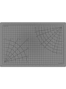 "EXCEL EXCEL 12"" X 18"" CLEAR SELF HEALING CUTTING MAT"