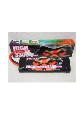 VIRUS RC VIRUS NIMH 7.2V 3300MAH TRAXXAS CONNECTOR