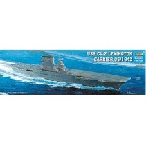 TRUMPETER USS CV-2 LEX CARR 05/194