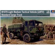 TRUMPETER M1078 LIGHT MEDIUM TACTICAL VEHICLE (LMTV) STANDARD CARGO TRUCK 1/35