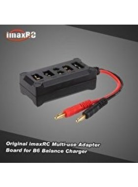 IMAX IMAX Original imaxRC All-in-one Multifunctional Adapter Board with Banana Connector for SKYRC B6 Balance Charger
