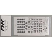 JTEC 1/8 SCALE INSTRUMEN