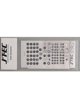 J TEC JTEC 1/8 SCALE INSTRUMEN
