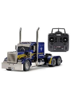 TAMIYA Tamiya  1/14 RC Grand Hauler (Full Operation Finished Model)  [23800] Factory built with Radio & MFC-01 Just add 7.2v battery & charger