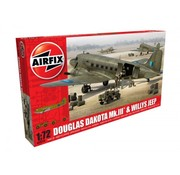 AIRFIX AIRFIX DOUGLAS DAKOTA MK.II & WILLYS JEEP