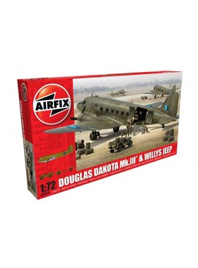 AIRFIX AIRFIX DOUGLAS DAKOTA MK.II & WILLYS JEEP