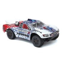 ARRMA SENTON 6S BLX BLUE & RED AR106007 REQUIRED 4-6S BATTERY & CHARGER  MIN 3000MAH 30C
