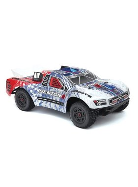 ARRMA ARRMA SENTON 6S BLX BLUE & RED AR106007 REQUIRED 4-6S BATTERY & CHARGER  MIN 3000MAH 30C