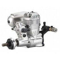 OS 15 LA SILVER RC ENGINE WITH SILENCER
