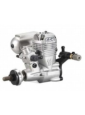 O.S. OS 15 LA SILVER RC ENGINE WITH SILENCER