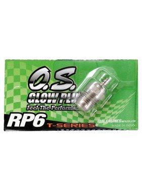 O.S. PARTS OS RP6 TURBO GLOW PLUG
