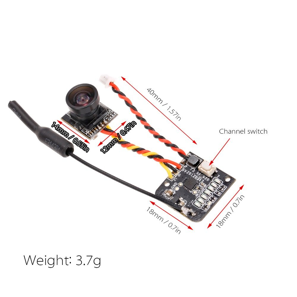 CHINA ELECTRONICS CYCLOPS 2 5.8G MINI 2 IN 1 VTX | acercmodels