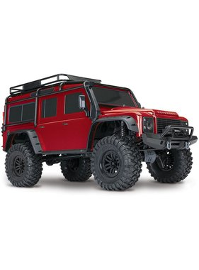 TRAXXAS Traxxas TRX-4 Scale & Trail Defender Crawler RTR CHOOSE RED , GREY  OR GREEN