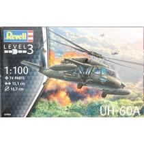 REVELL UH-60A BLACKHAWK 1:100