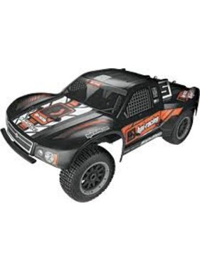 HPI HPI BAJA 5SC SHORT COURSE TRUCK 1/5 SCALE MATTE BLACK NOW INCLUDES 240V RX BATTERY CHARGER