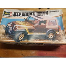 REVELL JEEP 4x4 Golden Hawk 1:16 Scale Model Kit VINTAGE 1980s