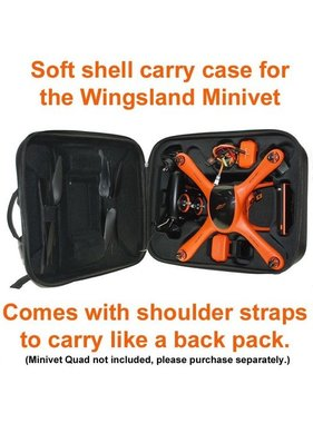 WINGSLAND WINGSLAND MINIVET SOFT SHELL CARRY CASE