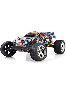 TRAXXAS Traxxas Rustler 2WD RTR (Brushed) no batt or charger ( Just add either Nimh Or LIPO battery or charger )
